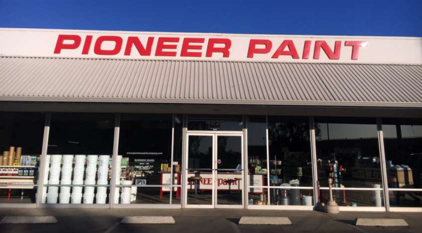 Pioneer Paint Company Bakersfield California